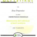 certyfikat diety roślinne